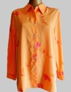 Brzoskwiniowa koszula w kwiaty Morgan rozm M...