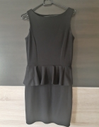 sukienka z baskinka czarna s mohito