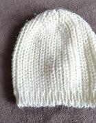 czapka hm biała