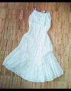Biała sukienka na lato...