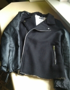kurtka na kożuszku motocyklowa