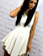 asymetryczna sukienka 36