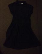 Sukienka koszulowa czarna...
