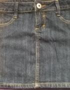 Spodniczka czarny jeans Tally Weijl