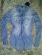 Jeansowa koszula MOODO 38 M nowa