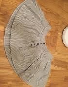 mini spódnica w paski h&m