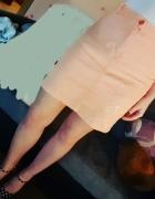 Brzoskwiniowa spódnica Rozmiar S
