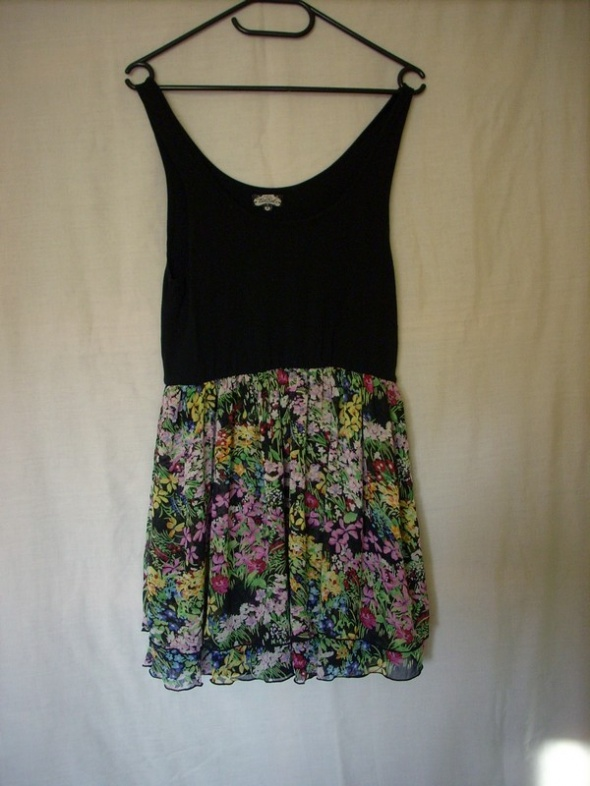 Suknie i sukienki Sale Bik Bok Sukienka Tunika Kwiaty