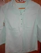 Koszula Reserved 36 zielona ćwieki