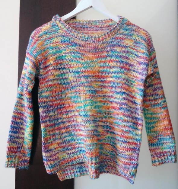 6bfeaf286525dc Kolorowy sweter melanż nowy miękki XS 34 w Swetry - Szafa.pl