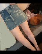 Spódniczka jeansowa Rozmiar S