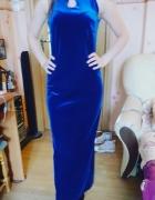 Granatowa sukienka Rozmiar M