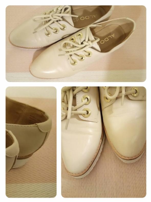 Półbuty ALDO buty NUDE