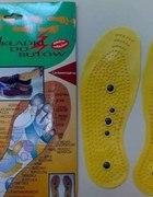 wkładki magnetyczne do butów każda z 5 magnesami