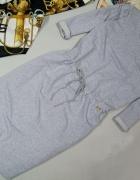 Dresowa szara NOWA sukienka 46 48