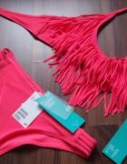 nowe bikini hm fredzle 36 red koral