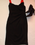 MAX MARA elegancka czarna sukienka 40 42...