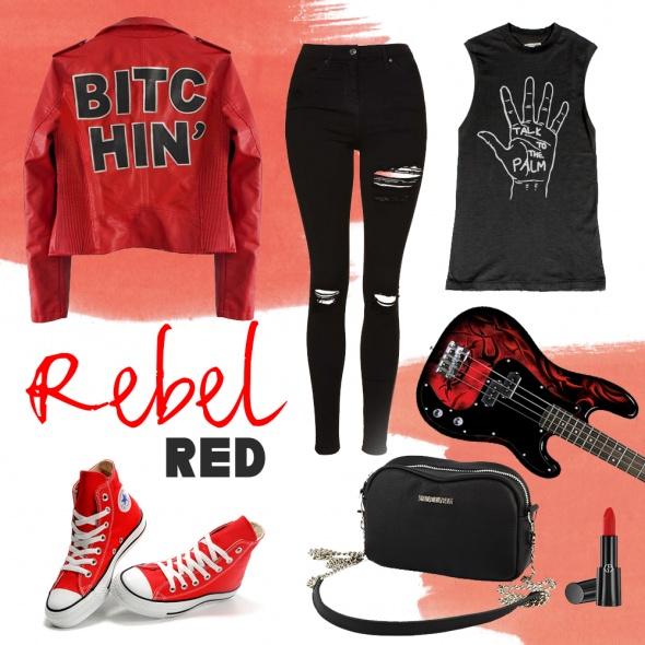 Mój styl Rebel RED