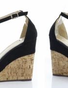 Nowe Sandały na koturnie 39 wysyłka GRATIS