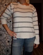 SERIOUS SALLY Sweterek oversize 38 40 42