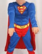 strój super men z mięśniami