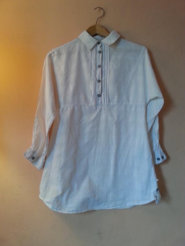 Biała elegancka koszula Pull&Bear L...