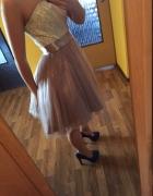 Sukienka balowa wieczorowa wesele impreza