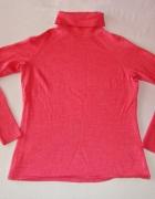 LAURA ASHLEY różowy sweter golf wool 38 40