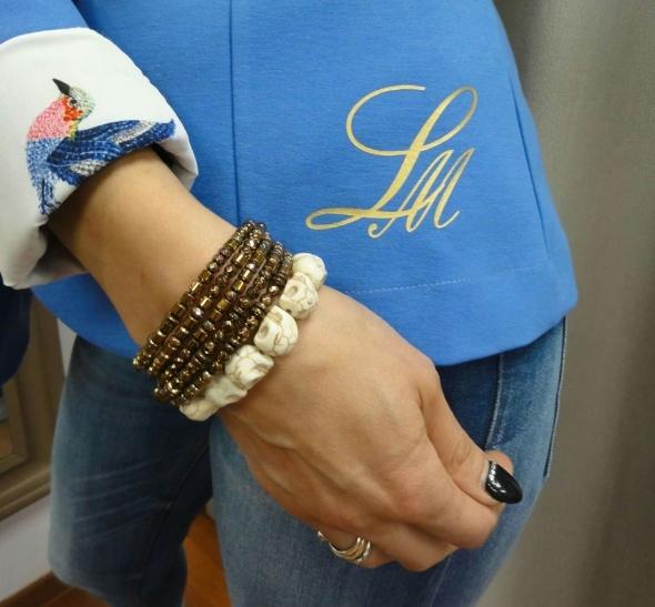 Mój styl Blue Look od La Mia Pracownia Krawiecka