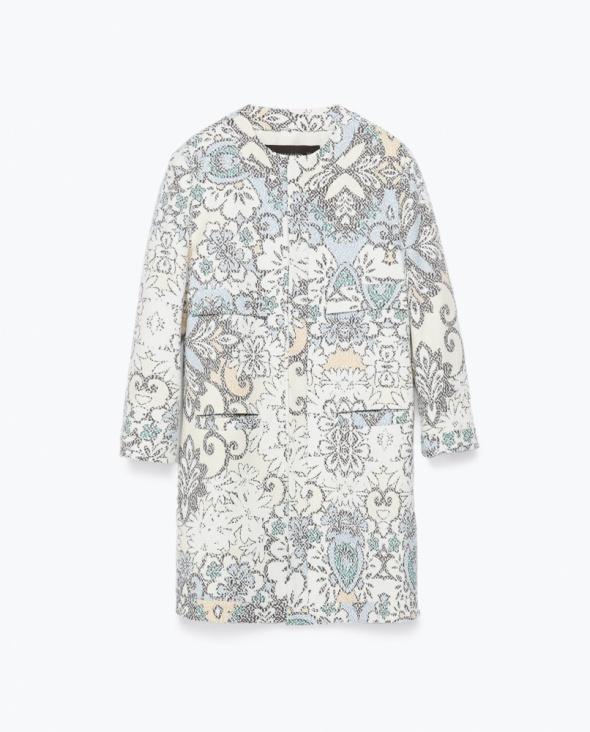 Ubrania Płaszcz Zara