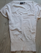Kremowa bluzeczka dzianinowa