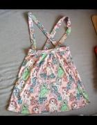 Modna spódnica na szelkach My little Ponny