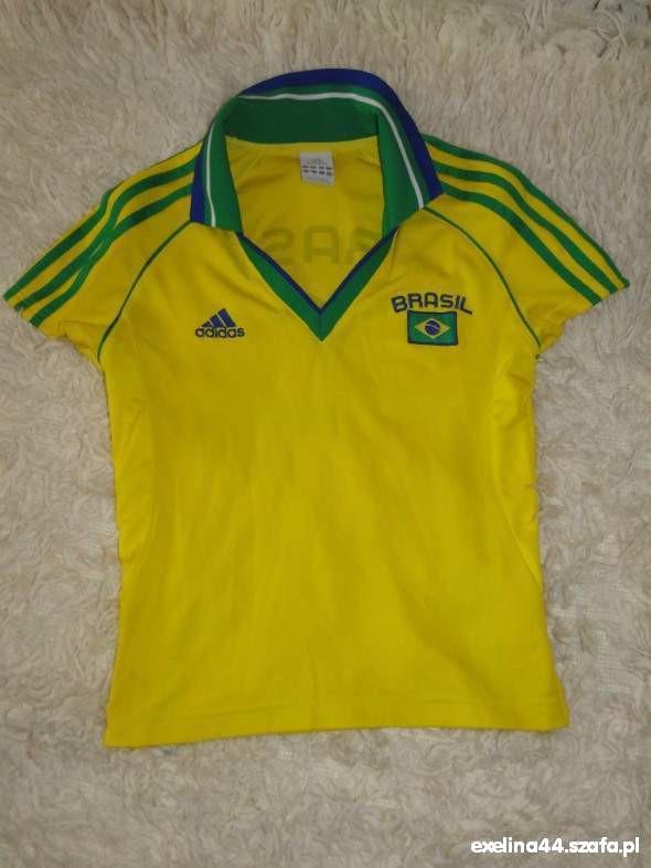 Bluzki Koszulka Brasil firmy Adidas