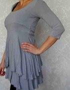 Szara sukienka tunika