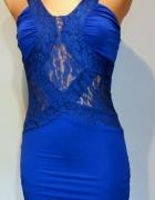 Elegancka zmysłowa sukienka Jeane Blush rozm XS
