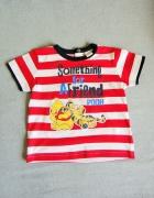 Bluzka z krótkim rękawkiem Disney Kubuś rozm 86