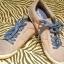 Szaro niebieskie buty sportowe Timberland