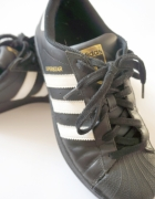 Adidas Superstar czarne black 40