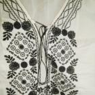 nowa J Crew bluzka haft koszula bawełna BOHO