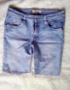 szorty jeans bermudy spodnie krótkie jeansowe