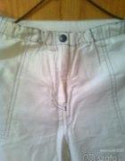 Jasne spodnie 38