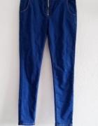 spodnie rurki zip