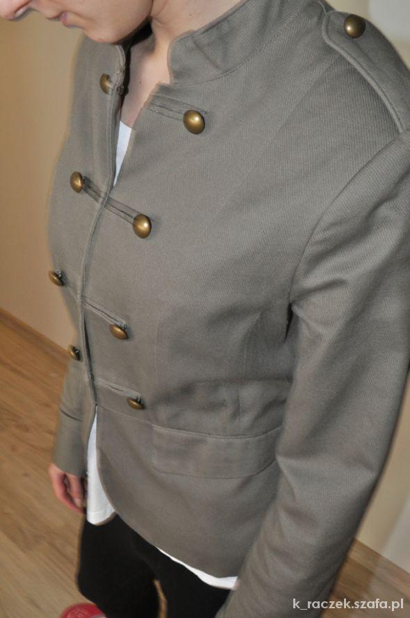 Marynarki i żakiety Militarny żakiet