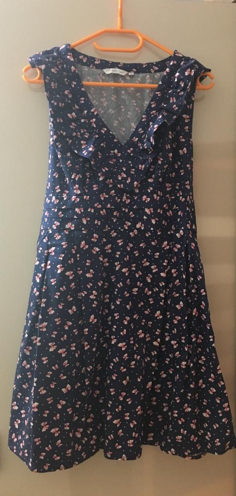 Suknie i sukienki Sukienka w kokardki xl xxl