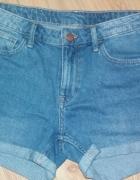 szorty h&m jeans