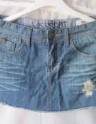 Spódnica mini jeansowa