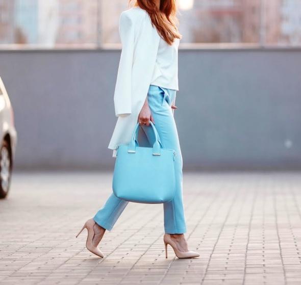 Blogerek Blue & white