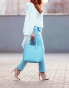 Blue & white...