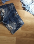 szorty jeansowe bershka S