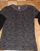 czarno szara bluzka